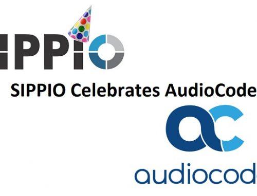SIPPIO Celebrates AudioCodes